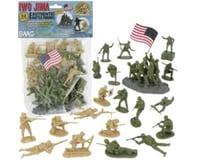BMC Toys 54Mm Iwo Jima Us Marines & Japanese Figure Playset