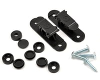 Random Heli 9.0mm Skid Clamp Assembly (Black)