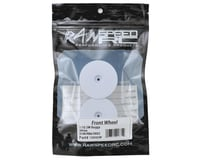 """Image 3 for Raw Speed RC 2.2"""" 1/10 2WD Front Wheels (White) (2) (B6/RB6)"""