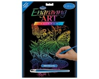 Royal Brush Manufacturing Rainbow Foil Engraving Butterflies