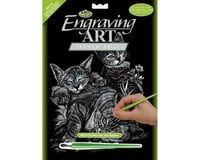 Royal Brush Manufacturing Silver Foil Tabby & Kittens