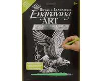 Royal Brush Manufacturing SILF27 Silver Engraving Screaming Griffin