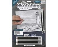 Royal Brush Manufacturing Sketching/Easy Light House Point 9x12