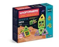 Rainbow Products MAGFORMERS Space Traveler Set (35 Piece)