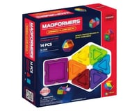 Rainbow Products Magformers Rainbow Clear Solid Set (14-pieces)