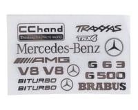 RC4WD CChand TRX-4 Mercedes-Benz G-500 Steel Logo Decal Sheet
