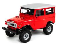 RC4WD Gelande II RTR 1/10 Scale 4WD Crawler w/Cruiser Body Set (Red)