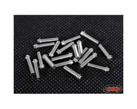 RC4WD Miniature Scale Hex Bolts (Silver) (20) (M3x12mm)