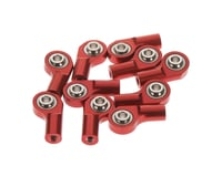 RC4WD M3 Offset Short Aluminum Rod Ends Red (10)