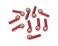 RC4WD M3 Offset Long Aluminum Rod Ends Red (10)