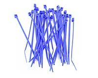 """Racers Edge 4"""" Hot Blue Zip Tie Wraps (30)"""