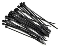 "Racers Edge 4"" Black Zip Tie Wraps (30)"