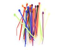 """Racers Edge 4"""" Assorted Color Zip Tie Wraps (30)"""