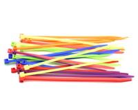 """Racers Edge 7.5"""" Assorted Color Zip Tie Wraps (25)"""