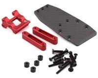 R-Design Traxxas 2WD Wheelie Bar Mount (Red)