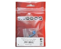 Image 2 for Ruddog Aluminum Offset Servo Horn (Blue) (25T-ProTek/Ruddog/Savox)