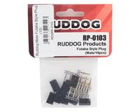 Ruddog Male Futaba Receiver Style Plug (10)