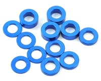 Ruddog 3mm Washer Set (Dark Blue) (0.5mm/1.0mm/2.0mm) (Team Associated RC10 F6)