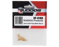 Image 2 for Ruddog 2mm Gold Male Bullet Plug (6)