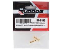 Image 2 for Ruddog 5mm Gold Male Bullet Plug (2)