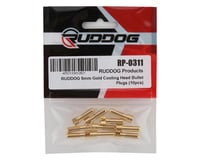 Image 2 for Ruddog 5mm Gold Cooling Head Bullet Plugs (10)