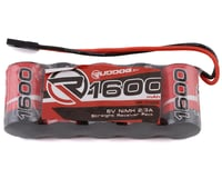 Ruddog 5-Cell NiMH 2/3A Straight Receiver Pack (6.0V/1600mAh)