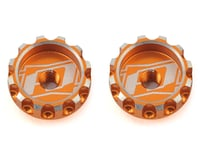 Revolution Design XB2 Battery Thumb Nut (2pcs/orange) (XRAY XB4)