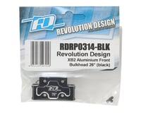 Image 2 for Revolution Design XB2 Aluminum Front Bulkhead (Black) (26°)