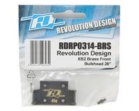 Image 2 for Revolution Design XB2 Brass Front Bulkhead (26°)
