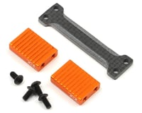 Revolution Design XB2 Ultra Servo Mount (Orange) (XRAY 2017 Carpet)