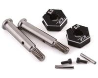 Revolution Design B6.2 Titanium Front Axle w/5.0mm Clamping Hex