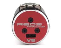 Image 2 for REDS V8 Gen 2 4-Pole Sensored 1/8 Brushless Motor (2350kV)