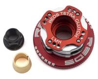 """REDS 32mm Off-Road """"Tetra"""" V2.1 Adjustable 4-Shoe Clutch System (Red) (HB Racing D817 V2)"""