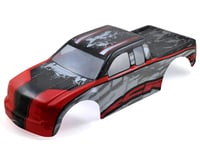 Redcat Rampage MT/XT Pre-Painted Monster Truck Body (Red/Silver)