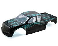 Redcat Racing Rampage Painted 1/5 Truck Body Black Blue RED50910