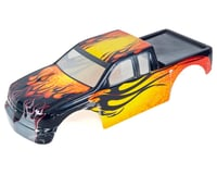 Redcat Racing 1/5 Truck Body, Yellow with Black Flames RED14050-Y