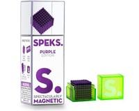 Speks SPEKS512PUR  Purple Color Set of 512 (2.5mm) Mashable, Smashable, Rollable, Buildable Magnets