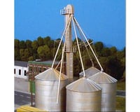 Rix Products HO 90' Grain Elevator w/Ladders & Chutes