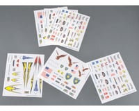 Revell Dry Transfer Decal Assortment #3 6Pc Pinewood Derby