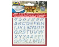Revell Germany Peel & Stick Holographic Decal Numbers/Letters