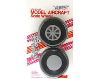 Robart U-325 Scale Wheels,3-1/4"