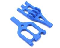 RPM Team Associated MGT Upper & Lower A-Arm Set (Blue)