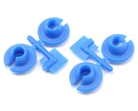 RPM Lower Spring Cups (Blue) (4) (Losi XXX-CR)