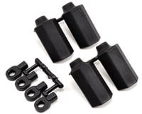 RPM Shock Shaft Guards (Black) (4) (Traxxas Nitro Sport)