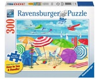 Ravensburger 13590 - Meet Me At the Beach Jigsaw Format Puzzle (300 Piece), Large, Multicolor