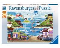 Ravensburger Lovely Seaside 500Pc Puzzle