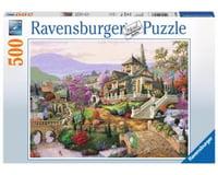 Ravensburger 14806 - Hillside Retreat Puzzle (500 Piece), Multicolor
