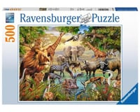Ravensburger 14809 - Majestic Watering Hole Jigsaw Puzzle (500 Piece)