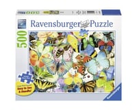 Ravensburger -Butterflies - 500 pc Large Format Puzzle