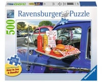 Ravensburger -Drive-Thru Route 66 - 500 pc Large Format Puzzle | relatedproducts
